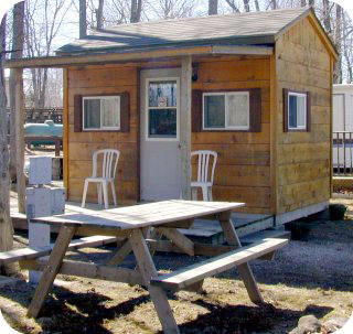 Sauble Beach Cabin Rentals - Sauble Falls Tent and Trailer Park