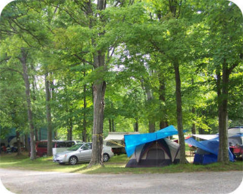 Campground area - Sauble Beach - Sauble Falls Tent and Trailer Park